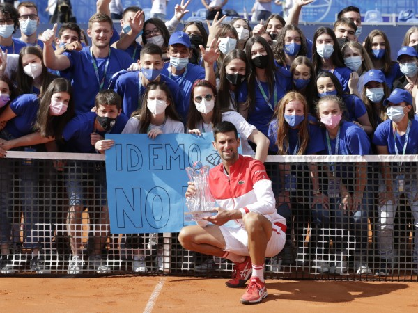 Лидерът в световната ранглиста по тенис Новак Джокович спечели 83-а
