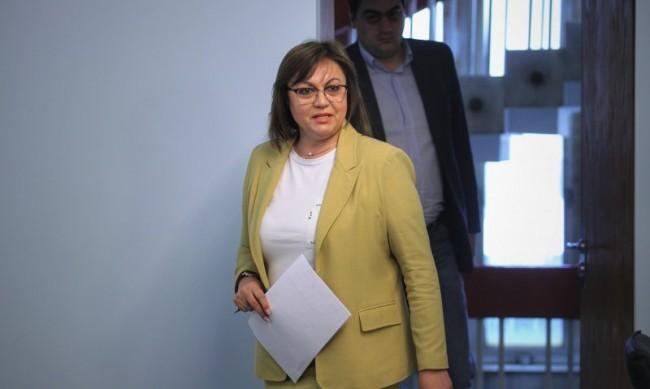 Нинова убедена: В следващия парламент не може да има правителство без БСП