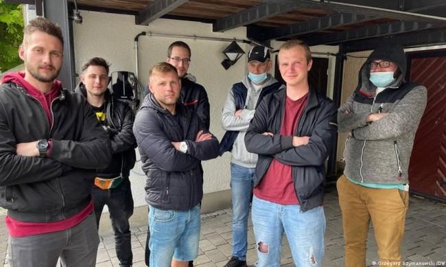 Насред Германия: Експлоатация, недадени заплати и нощувки в гората