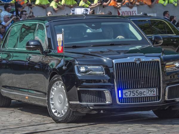 Руският президент Владимир Путин на практика взе участие в церемонията