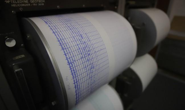 Земетресение от 4,1 разлюля Турция