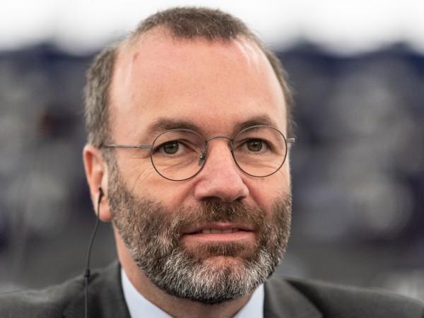 Председателят на групата на Европейската народна партия в Европарламента Манфред