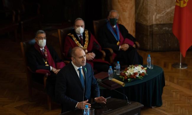 Радев: България и Португалия са единни в стремежа си да работят за Европа