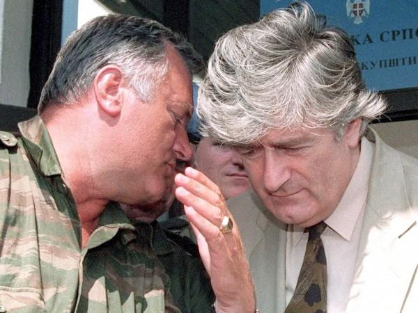 Осъдените военни престъпници като Ратко Младич и Радован Караджич се