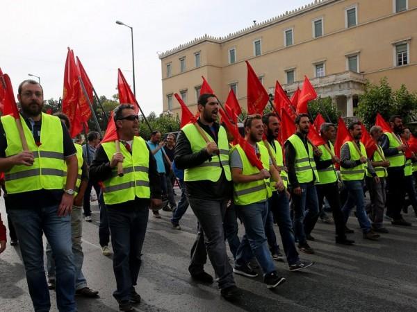 Гръцките синдикати се подготвят за национална стачка в четвъртък, 10