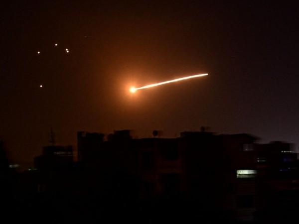Сирийската система за противовъздушна отбрана е била задействана за отразяване
