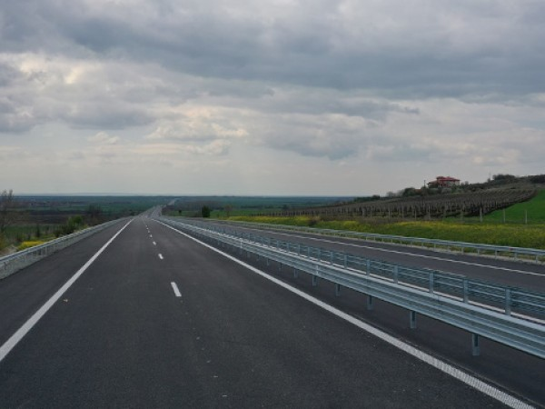 "Движението при 45-ти км на АМ ""Тракия"" в посока Пловдив"