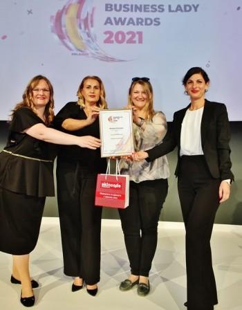 Дигиталният портфейл MyFin получи заслужено признание на Годишните награди Business Lady Awards