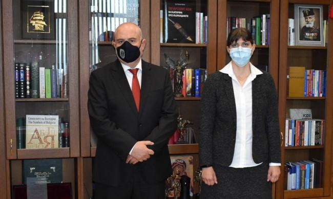 Гешев: С Кьовеши обсъдихме борбата срещу организираната престъпност, корупцията