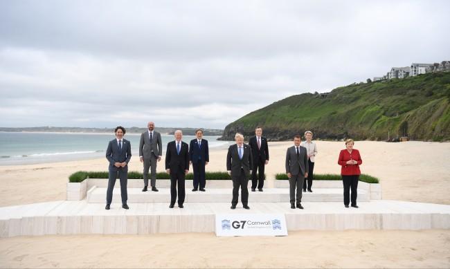 Започна срещата на лидерите на Г-7