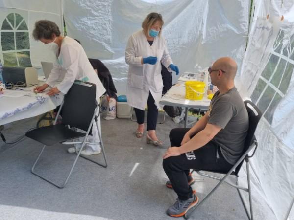 Общо 456 души днес са си поставили ваксина срещу COVID-19