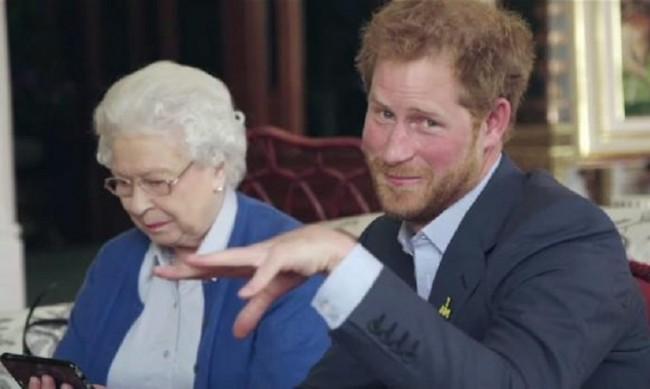 Пита ли принц Хари кралицата преди да кръсти дъщеря си?