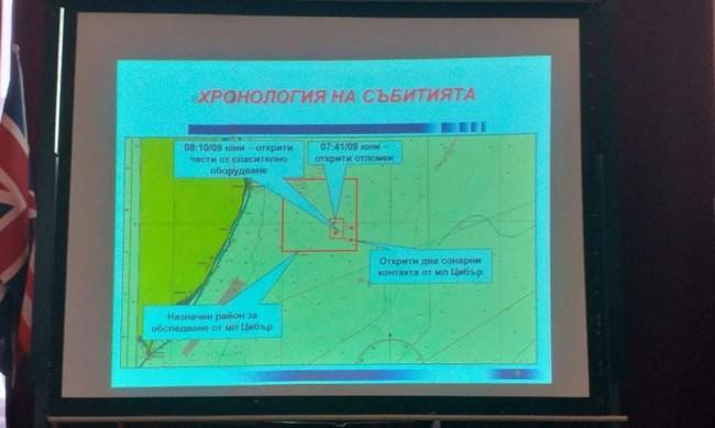 Спряха временно издирването на черната кутия край Шабла