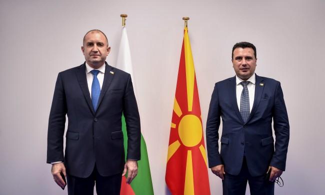 Заев и Радев обсъдиха интеграцията на Северна Македония в ЕС