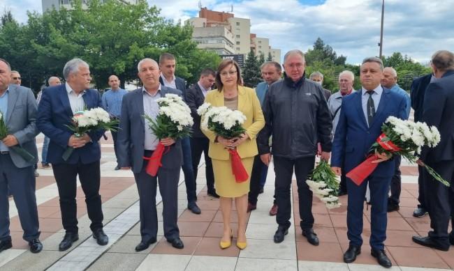 Нинова: България има нужда от лява алтернатива, само ние я даваме