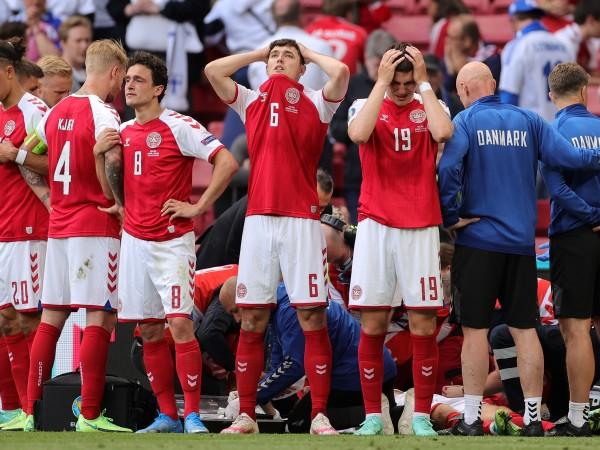 Датският футболист Кристиан Ериксен прекара първите си нощи от Европейското