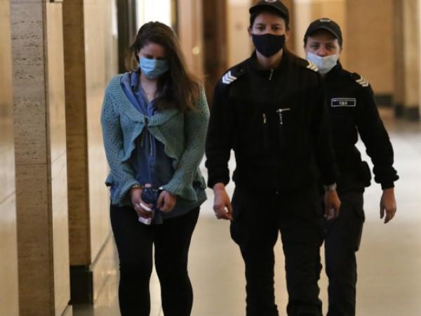 Софиийският апелативен съд остави в ареста Кристина Дунчева, която е