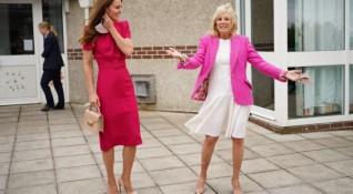 Кейт Мидълтън и Джил Байдън - най-стилните на срещата на Г-7