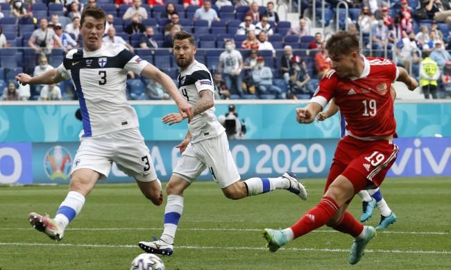Русия успя да победи Финландия с 1:0