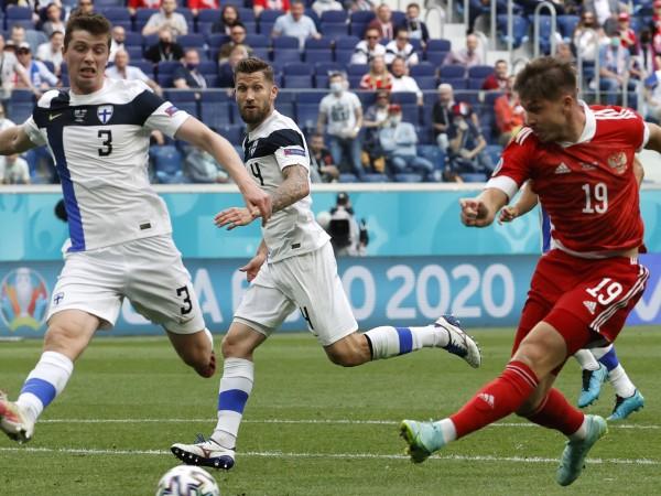 """Русия удари с 1:0 Финландия в мач от група """"В"""""""