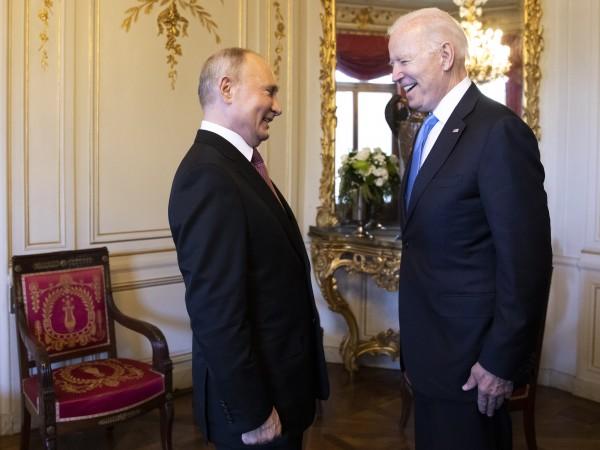 Президентите на САЩ Джо Байдън и на Русия Владимир Путин