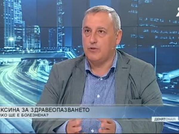 Служебният министър на здравеопазването д-р Стойчо Кацаров настоя Българският лекарски