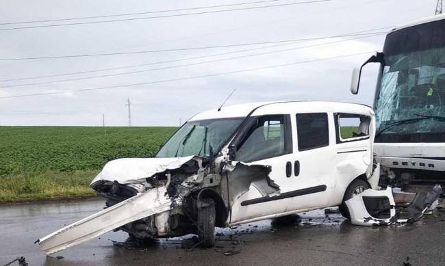 Устата претърпял кошмарен инцидент на пътя