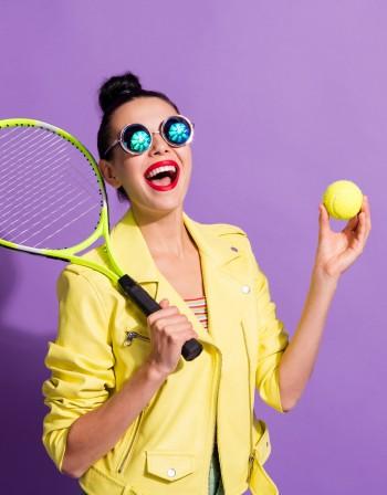 Тенис стил в гардероба - вдъновение за лято 2021