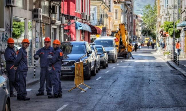 Къде ще има проблеми с трафика в София през лятото?