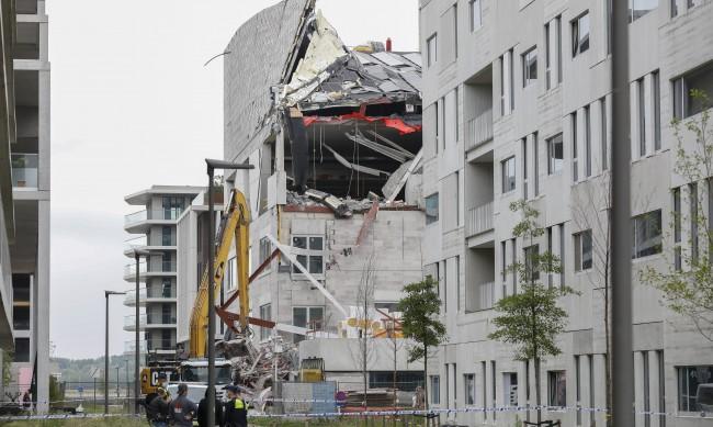 Сграда се срути в Антверпен, жертвите до момента са три