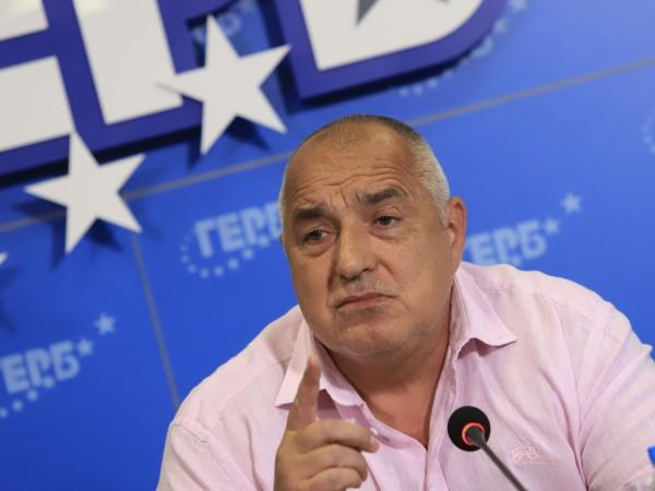 Бившият премиер и лидер на ГЕРБ Бойко Борисов коментира пред