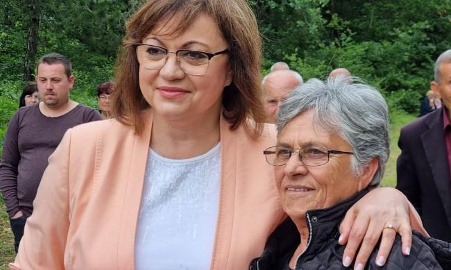 Нинова във Варна: Възрастните хора са най-уязвими