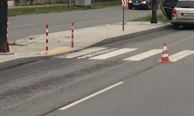 Блъснаха пешеходка в Пловдив
