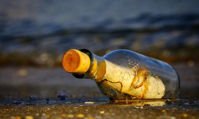 Писмо в бутилка пропътува повече от 4000 километра