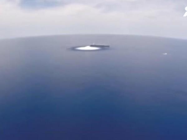 Необичаен тест беше извършен на военен кораб в Съединените щати.