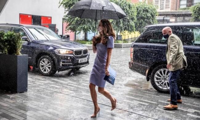 Кейт Мидълтън - стил в лошото време