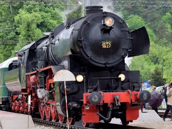 БДЖ ще организира пътуване с парен локомотив 16.27 от Горна