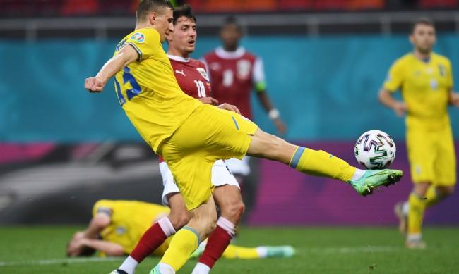 Австрия удари Украйна и е на 1/8 финал