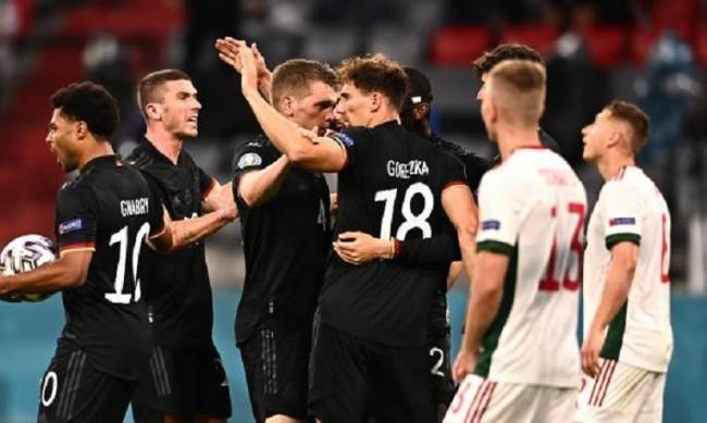 Германия завърши  2:2 с Унгария и се натресе на Англия