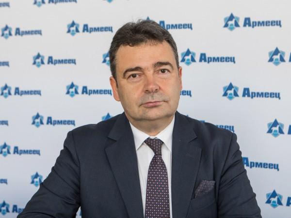 """Изпълнителният директор на ЗАД """"Армеец"""" Константин Велев беше преизбран за"""