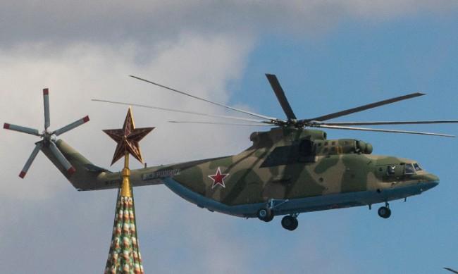 """Хеликоптер """"Ми-8"""" е катастрофирал в Ленинградска област"""