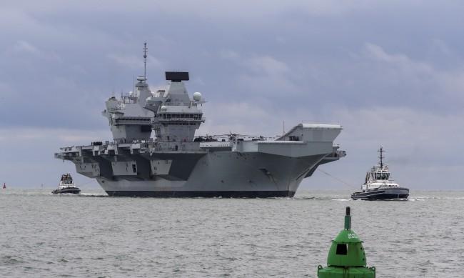 Подготовка ли е акцията на Великобритания край Крим за по-мащабна мисия?