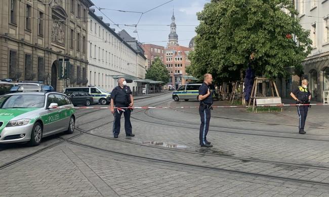 Ислямистки материали са открити в приюта, където живял нападателят от Вюрцбург