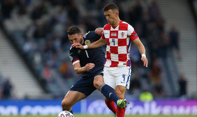 Коронавирус извади звезда на Хърватия от 1/8-финала с Испания