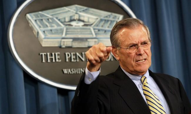 Почина бившият министър на отбраната на САЩ Доналд Ръмсфелд