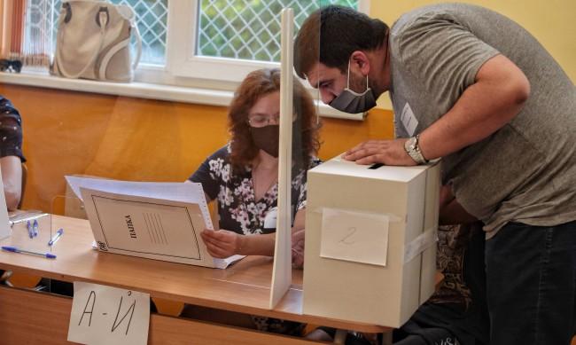 Вотът по области: ГЕРБ втори в Пловдив, в София ДБ с най-много гласове