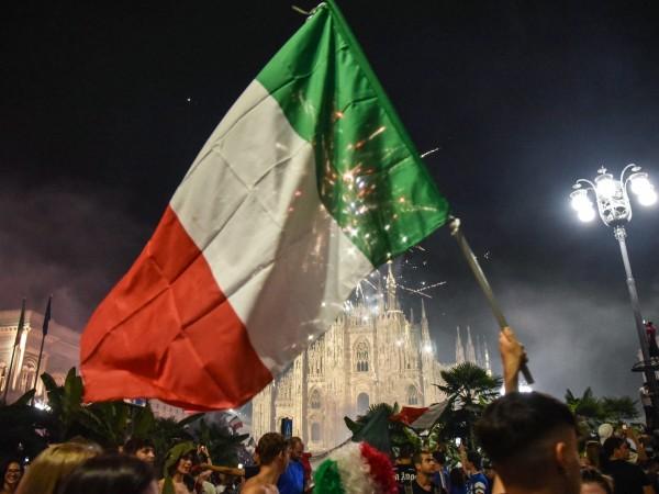 Снимка: БГНЕССлед напрегнатия финал на Евро 2020, в цяла Италия