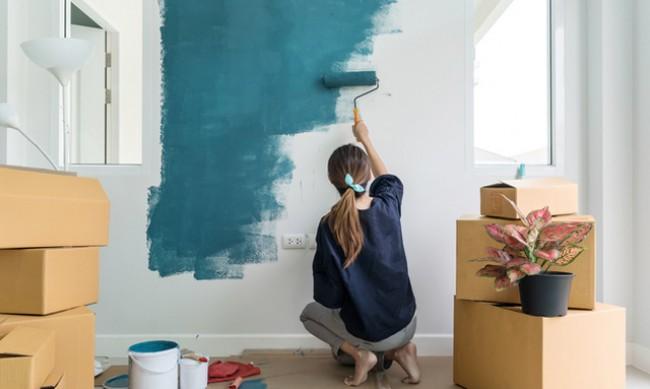 Какво е добре да направите преди да боядисате стените?