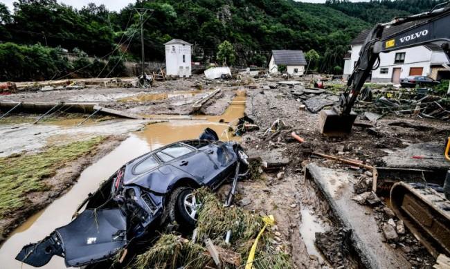 Потопът в Белгия взе поне четири жертви