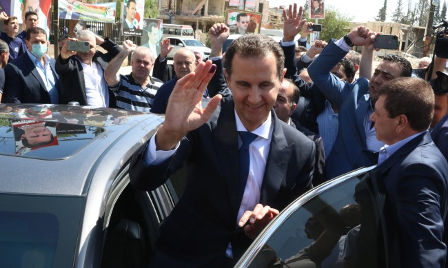 Башар Асад положи клетва за нов мандат като президент на Сирия